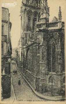Cl 04 265 Caen- Abside de St-Sauveur