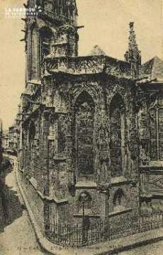 Cl 04 267 Caen- Eglise St-Sauveur