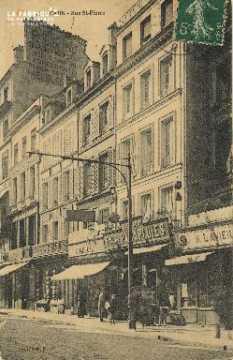 Cl 04 270 Caen- Rue St-Pierre