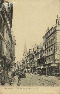 Cl 04 271 Caen- Rue St-Pierre