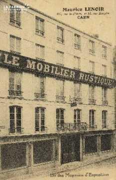 Cl 04 273 Caen- MAURICE LENOIR 117 Rue St-Pierre et 13 rue Ecuyère