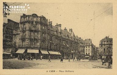 Cl 04 276 Caen- Place St-Pierre