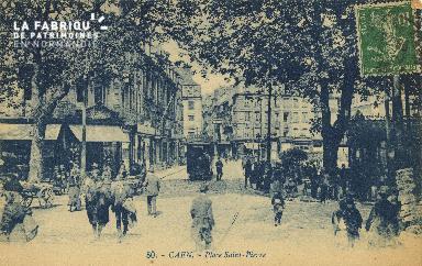 Cl 04 278 Caen- Place St-Pierre