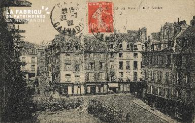 Cl 04 294 Caen- Place du marché au bois et rue Sohier