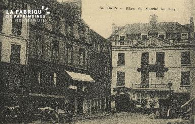 Cl 04 296 Caen- Place du marché au bois