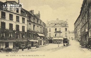 Cl 04 297 Caen- Place du marché au bois