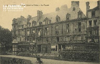 Cl 04 299 Caen- Ancien Hôtel-le-Valois - La façade