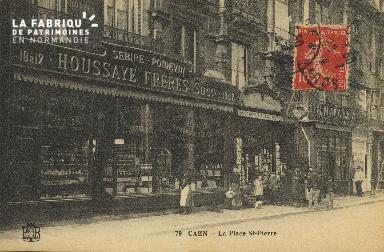 Cl 04 300 Caen- La place St-Pierre