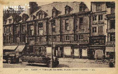 Cl 04 301 Caen- Vieille maison place St-Pierre