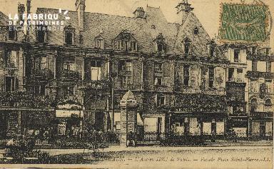 Cl 04 304 Caen- L'ancien Hôtel le Valois - Façade Place St-Pierre
