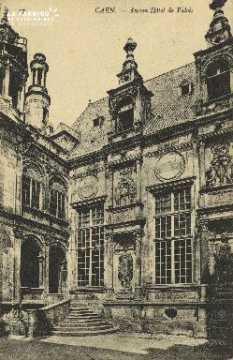 Cl 04 308 Caen- Ancien Hôtel de Valois