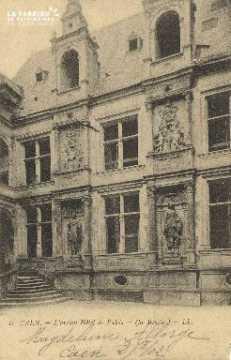 Cl 04 309 Caen- L'ancien Hôtel le Valois (La bourse)