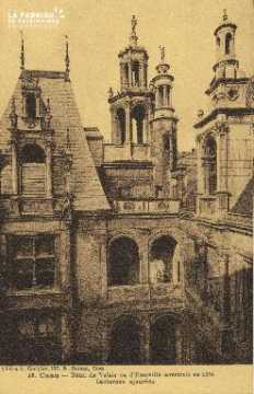 Cl 04 310 Caen- Hôtel de Valois ou d'Escoville construit en 1558- Lant