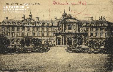 Cl 05 001 Caen- Hôtel de ville