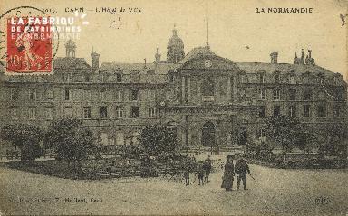 Cl 05 004 Caen- Hôtel de ville