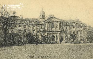 Cl 05 006 Caen- Hôtel de ville
