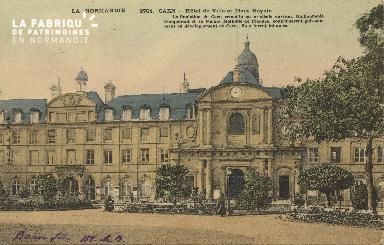 Cl 05 009 Caen- Hôtel de ville et place royale