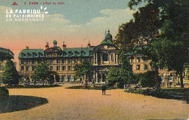 Cl 05 013 Caen- Hôtel de ville