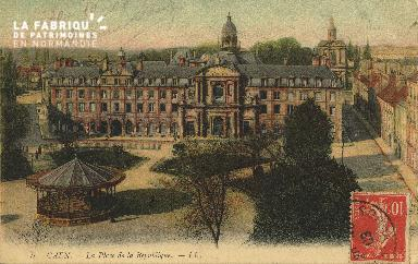 Cl 05 014 Caen- Place de la république