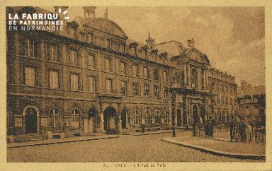 Cl 05 017 Caen- Hôtel de ville