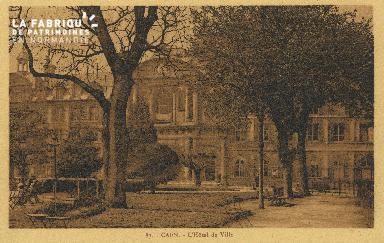 Cl 05 018 Caen- Hôtel de ville