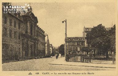 Cl 05 023 Caen- La nouvelle rue Doumer et la Déposant : mairie