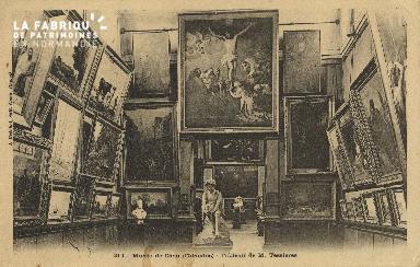 Cl 05 027  Musée de Caen - Tableau de M. Tessières