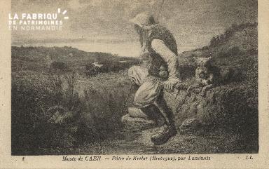 Cl 05 030  Musée de Caen- Pâtre de Krelat (Bretagne) par luminais