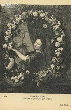 Cl 05 049  Musée de Caen- Madame de Parabère, par Coypel
