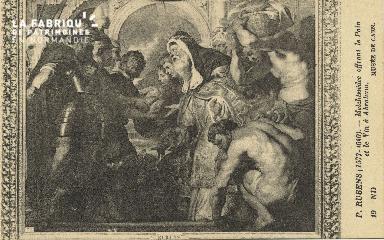 Cl 05 059  Musée de Caen- P. Rubens (1577-1640)- Melchissède offrant d