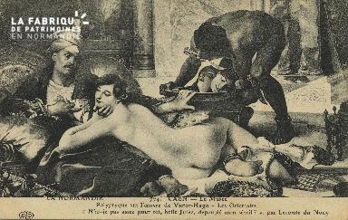 Cl 05 066 Caen - Le Musée- Polyptyque sur l'oeuvre de Victor Hugo- Les