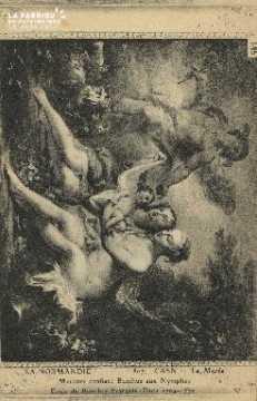 Cl 05 075 Caen - Le Musée- Mercure confiant Bacchus aux Nymphes