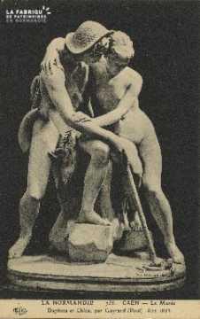 Cl 05 076 Caen- Le Musée- Daphnis et Chloé, par Gayard (Paul) 1802-185