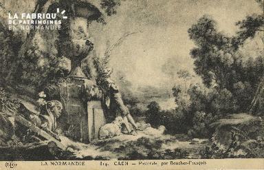 Cl 05 077 Caen- Pastorale par boucher-François