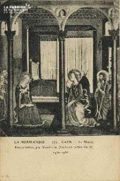 Cl 05 078 Caen- Le Musée Annonciation, par Vecchietta (Lorenzo pietro