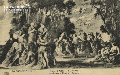 Cl 05 079 Caen- Le Musée - Bacchanale- Ecole de Rubens