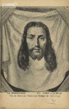 Cl 05 096 Caen- Le Musée- Tête du Christ, par Champaigne-Philippe de (