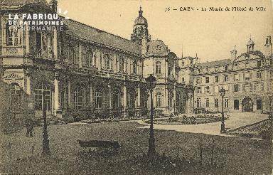Cl 05 103 Caen- Le musée de l'Hôtel de ville