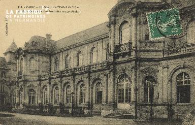 Cl 05 104 Caen- Interieur de l'Hôtel de ville Ancien sémionaire des Eu