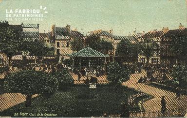 Cl 05 110 Caen- Place de la république