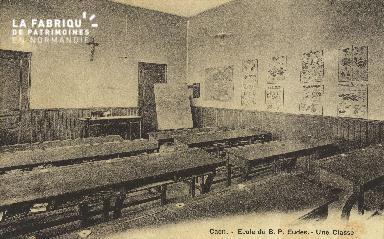 Cl 05 113 Caen- Ecole du B.P. Eudes- Une Classe