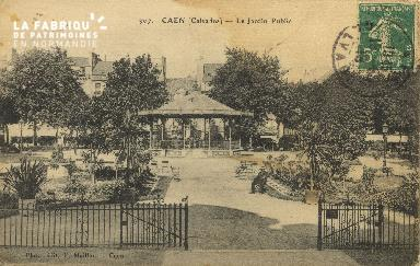 Cl 05 114 Caen- Le jardin public
