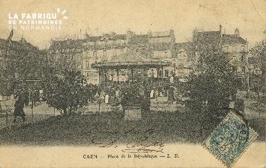 Cl 05 116 Caen- Place de la république