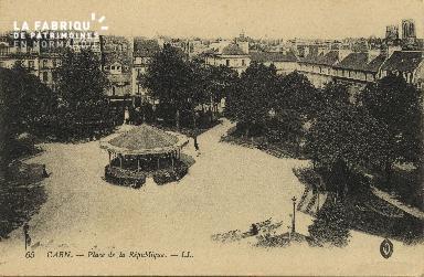 Cl 05 117 Caen- Place de la république