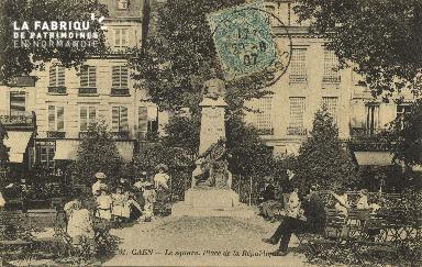 Cl 05 126 Caen- Le Square  Place de la république