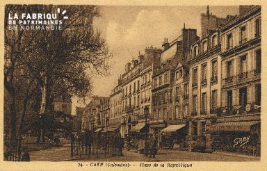 Cl 05 136 Caen- Place de la République