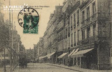 Cl 05 137 Caen- Place de la république
