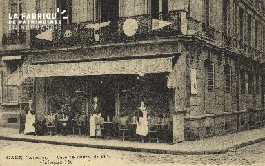 Cl 05 140 Caen- Café de l'Hôtel de ville