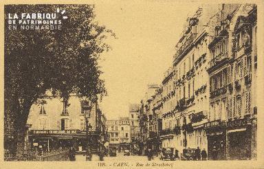 Cl 05 143 Caen- Rue de Strabourg