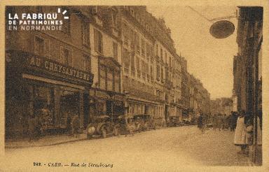 Cl 05 145 Caen- Rue de Strabourg